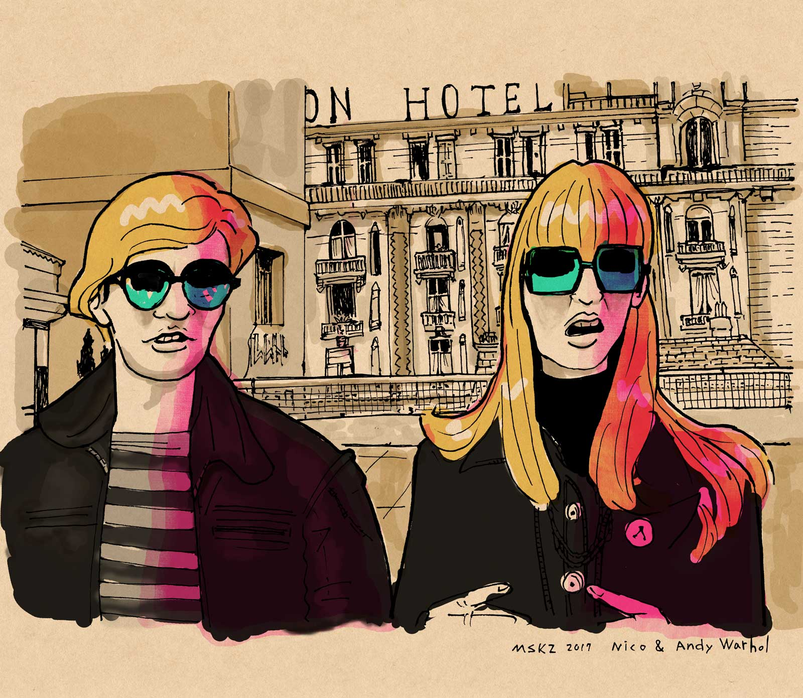 Nico & Andy Warhol